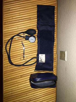 Blood Pressure Pump and Surgical Scissors for Sale in Antioch, CA