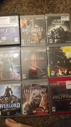 10 Playstation 3(PS3) Games for Sale in Portland, OR