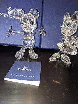 Crystal Swarovski Disney Mikey and Minnie mouse for Sale in Rock Hill, SC