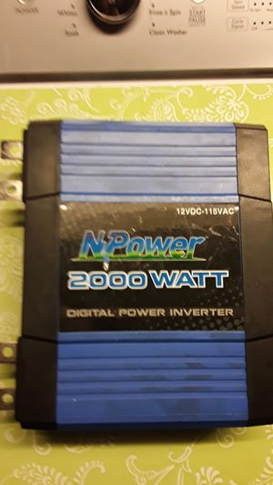 2000 watt power inverter. for Sale in Manalapan Township, NJ