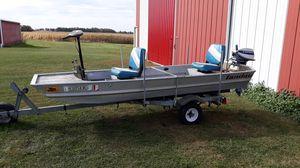 Boat, Motor, Trailer. for Sale in Jamestown, IN