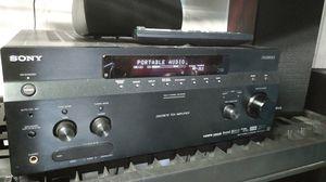 Sony surround sound System Sony DA 3300es Reciever, Sony Towers , Klipsch Sub 10 woofer, remote for Sale in Miramar, FL