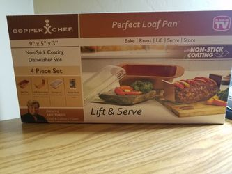 Perfect loaf pan/ copper chef for Sale in Tucson,  AZ