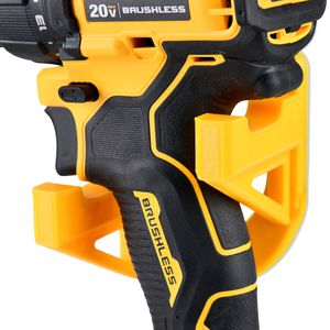 Wall mount stand rack holster for DeWalt Milwaukee Makita Power Drills or Impact Tools 2pcs Yellow for Sale in Ontario, CA