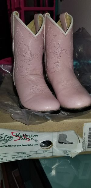 Baby Girl Boots 5.5 for Sale in Ruskin, FL