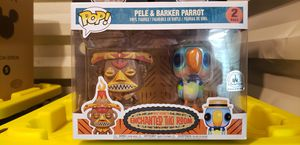Pele and Barker Parrot Enchanted Tiki Room Funko Pop Disney Park EXCL for Sale in Vallejo, CA
