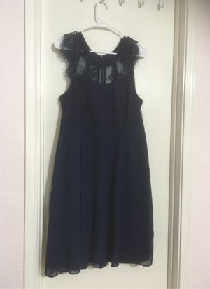 Liza Luxe dark blue dress size xl new for Sale in Arlington, TX