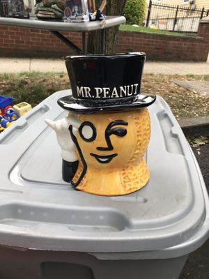 Mr Peanut cookie jar for Sale in Queens, NY