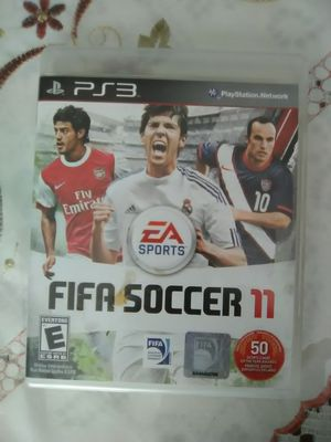 PS3 FIFA Soccer 11. PS3 GAME. EA SPORTS. PlayStation football for Sale in NEW PRT RCHY, FL