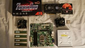 Computer parts (old stuff) Raedon 270 GPU,I5 650 CPU, Sound card, etc. for Sale in NJ, US