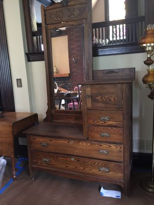 Rare Antique Men's Highboy dresser for Sale in Seattle, WA