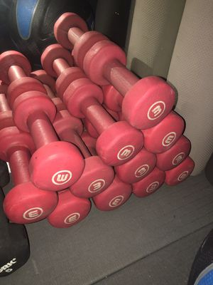 3 Pound Dumbbells for Sale in Daly City, CA