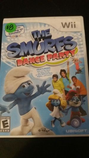 The SMURFS Dance Party (Nintendo Wii + Wii U) for Sale in Lewisville, TX