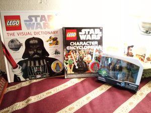 STAR WARS Lego Reference Books & Force Link Figures for Sale in Lake Forest, CA