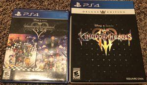 Kingdom Hearts Deluxe Edition 3 for Sale in Gainesville, GA