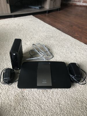 Wireless Router and Modem for Sale in Seattle, WA