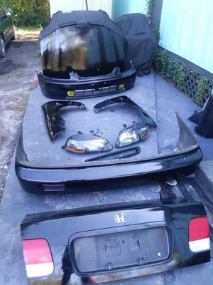 96/97 civic front end and rear bumper trunk for Sale in Leesburg, FL