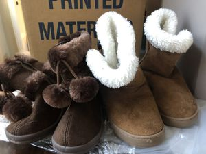 Girl toddler boots 9/10c for Sale in Rancho Cucamonga, CA