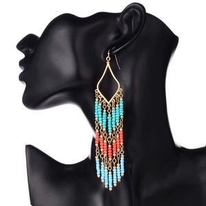 Long Beaded Statement Earrings For Women for Sale in Morrisville, NC