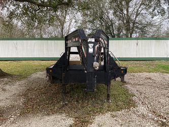 2013 PJ 40' Flatbed Gooseneck Trailer Hutch Suspension for Sale in Alvin,  TX