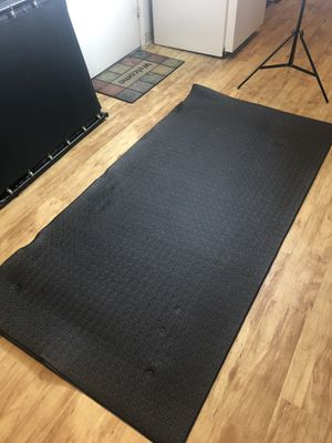 Large Treadmill Exercise Bike Equipment Mat for Sale in Lakewood, CO
