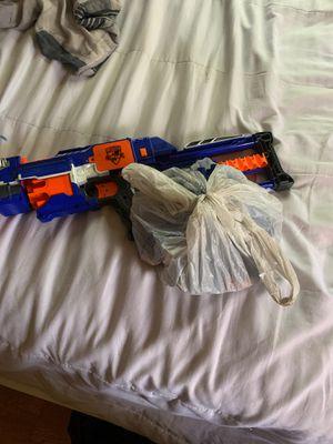 Nerf gun+80-90 bullets for Sale in Sugar Hill, GA