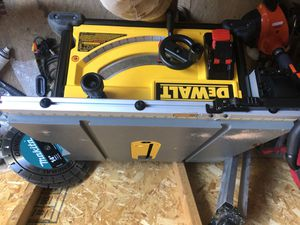 Dewalt table saw dwe7491 like new for Sale in Paramount, CA