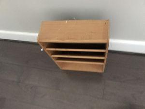 Magazine rack wood for Sale in Alexandria, VA