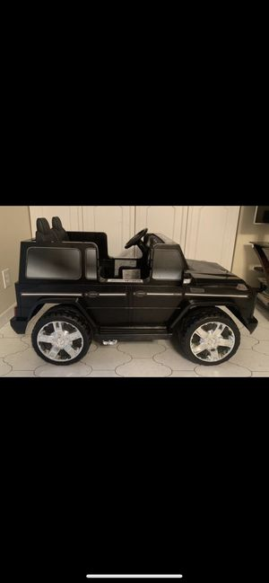 Kids Electric Car Mercedes AMG G 55, 12volt . 2 SEATER, Power Wheels, Ride on toys for Sale in Miami, FL