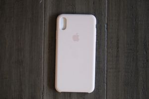 Apple Silicone Case for iPhone X/XS Max Pink for Sale in Bellevue, WA
