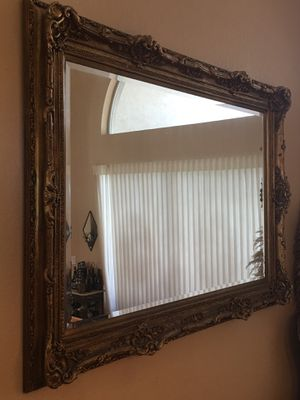Large gold leaf wall mirror for Sale in FL, US