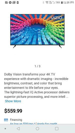 60 inch smart tv for Sale in Bartlesville, OK
