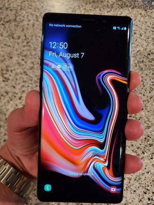 Samsung Galaxy Note 9 128gb for Sale in Albuquerque, NM