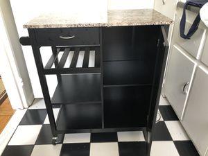 Kitchen Storage Cabinet Cart for Sale in Arlington, VA