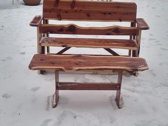Cedar Patio Furniture for Sale in Mansfield,  TX