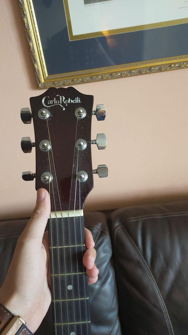 Carlo Robelli Acoustic/Electric Guitar