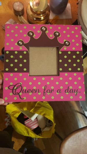 Picture Frame for a little girl for Sale in Queens, NY