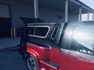 Chevy truck topper 6.5 ft x 4.5ft length and width for Sale in Crestview, FL
