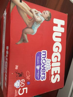 Huggie littler movers size 5 for Sale in Philadelphia, PA