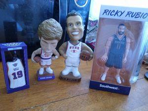 Phoenix Suns bobblehead and action figure for Sale in Phoenix, AZ