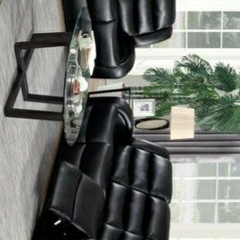 Oniks Black Reclining Sofa & Loveseat & Recliner | U9400 for Sale in Silver Spring, MD