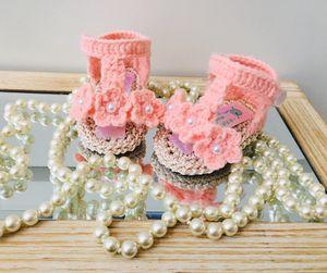 Crochet baby sandals / Sandalias a crochet para bebé for Sale in Tracy, CA