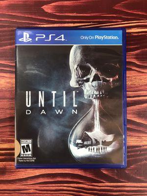 PS4 Until Dawn for Sale in Norridge, IL
