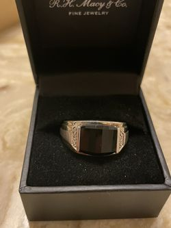Men's Sterling Silver And Diamond Accent Ring for Sale in Rowlett,  TX