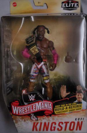 New WWE Elite Collection Kofi Kingston Figure. for Sale in Apopka, FL