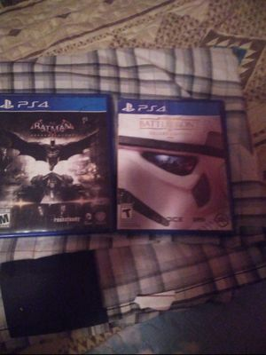 Batman Arkham Knight and starwars Battle Front deluxe edition for Sale in Odessa, TX