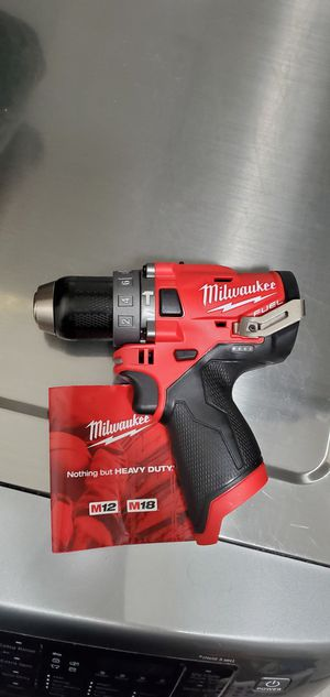 Milwaukee M12 FUEL 12-Volt 1/2 in. Hammer Drill (Tool-Only) for Sale in San Antonio, TX