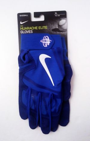 Nike Huarache Elite Baseball Batting Gloves Royal Blue/White PGB643-468- Size XL for Sale in Hyattsville, MD