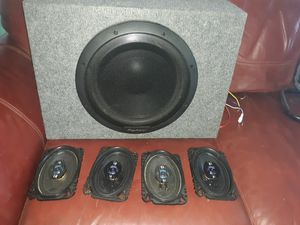 Pioneer powered subwoofer 12 inch for Sale in Sebastian, FL