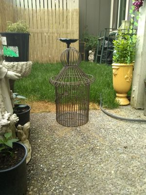 Metal birdcage for Sale in Tacoma, WA